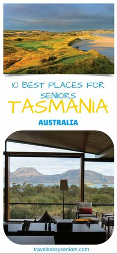 The smallest state of Australia, Tasmania is isolated from the mainland by the Bass Strait.