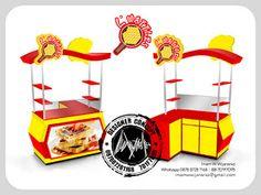 Desain Logo | Logo Kuliner |  Desain Gerobak | Jasa Desain dan Produksi Gerobak: Desain Gerobak L Waffles