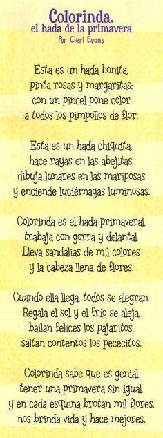 """""""DUENDES JUGUETONES"""": COLORINDA EL HADA DE LA PRIMAVERA"""