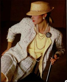 Chanel ad from the 1983.