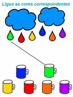 Preschool Learning Activities, Color Activities, Preschool Activities, Preschool Colors, Numbers Preschool, Kindergarten Math Worksheets, Kindergarten Learning, Math For Kids, Barn