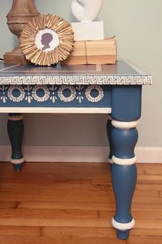 StencilGirl Talk: Stenciled Furniture with Rachel at Shades of Blue Interiors