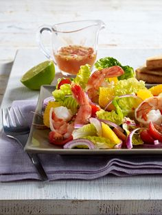 Schnell drei Kilo weg: 21 Low-Fat-Rezepte Cobb Salad, Food And Drink, Babys, Fitness, Healthy Food Recipes, Cooking Recipes, Babies, Infants, Keep Fit