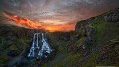 #Fagrifoss #Iceland © Luca Mondini @ lucamondiniphotography.com — in Iceland.