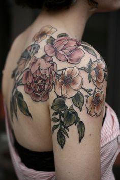 20 idées Pinterest de tatouages fleuris                              …
