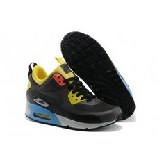 pretty nice f4e49 39216 ... best air max 90 grise noir jaune femme air max 90 femme chaussure nike  air 6b615
