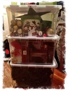 Organizing Christmas Decorations on 5MinutesForMom.com