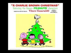 """Vince Guaraldi Trio - """"Christmastime Is Here (Instrumental) (""""A Charlie Brown Christmas"""")"""" My ABSOLUTE favorite. I listen to this year round. Thanks Vince ♥ ."""