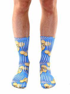 Hanukkah Crew Socks