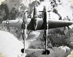 World War Two, United States Army Air Force (U.S.A.A.F.), P-38