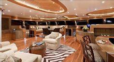 Hemisphere Catamaran interior view
