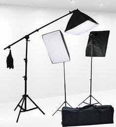 Fancierstudio 2400 Watt Lighting Kit With Boom Arm Hairlight Softbox Lighting Kit By Fancierstudio 9004SB2 Fancierstudio,http://www.amazon.com/dp/B0047FHOWG/ref=cm_sw_r_pi_dp_-3ZXsb06JX8JX0QW
