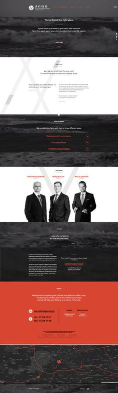 Aviso Law Firm Website Design #lawyerwebsites #lawfirmwebsite #lawyer #website