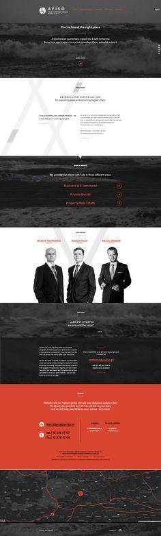 Aviso Law Firm Website Design #lawyerwebsites #lawfirmwebsite #lawyer #website