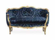 c1760 A LOUIS XV GILTWOOD CANAPE CORBEILLE BY NICOLAS HEURTAUT, CIRCA 1760 Price realised GBP 6,250