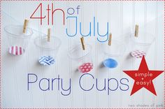 Two Shades of Pink/party cups
