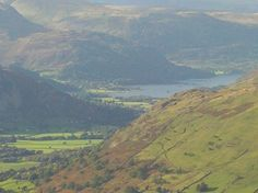 A view from Thornthwaite Crag on the way to High Street in the Lake District in September 2010. Ullswater is in the background