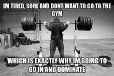 Gym quote. Mentally tough!