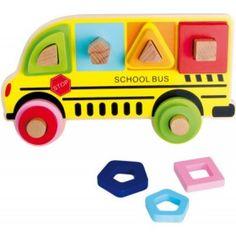 "Farby a tvary ""autobus"""