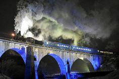 「銀河鉄道の夜」が現実に SL銀河が一夜限りの夜間運行【画像】