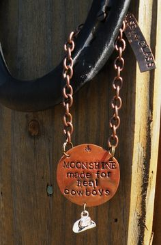 Liquor Decanter Tag Label. Copper. by RaiseMyGlass on Etsy, $20.00