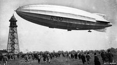 A curious British airship experiment - R100