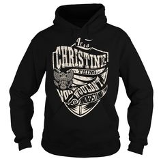 Its a CHRISTINE Thing (Eagle) - Last Name, Surname T-Shirt