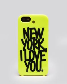 kate spade new york iPhone 5 Case - New York I Love You