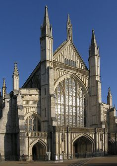 Winchester Cathedral, Winchester, England