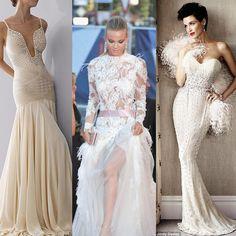 Vestidos de noiva diferentes e ousados