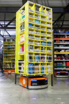 15,000 amazon kiva robots drive eighth generation fulfillment center