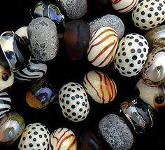 DSG Beads Handmade Organic Lampwork Glass  Made by debbiesanders, $125.00