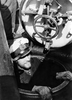 U-Boats ~ Reinhard Hardegen, captain-lieutenant of a German U-Boat.~ BFD
