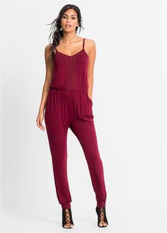 Luźniejszy Kombinezon z dżerseju  #kombinezon #overalls #fashion #moda #womensfashion #womenwear Jumpsuit, Dresses, Fashion, Fashion Styles, Overalls, Vestidos, Moda, Monkeys, Jumpsuits