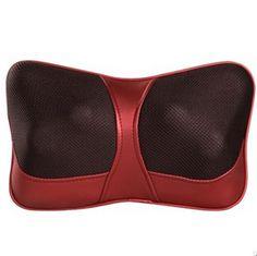 Double Massage Device Neck Massage Pillow Massage Car Massage Cushion Headrest With EUAUUS Plug