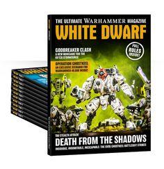 Abbonamento promozionale di 12 mesi a White Dwarf (Inglese)