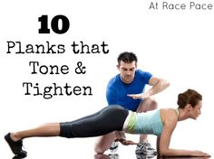 10 Planks that Tone and Tighten | At Race Pace