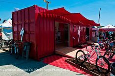 bike shop in container - Google Search