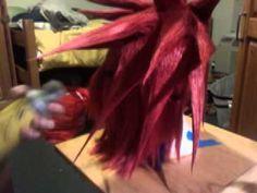 Cosplay Wig Tutorial: Spikes http://gingerkittycosplay.tumblr.com/