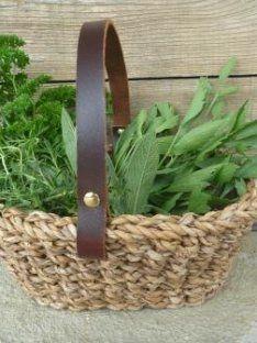 Herb Basket | Our Kitchen Garden