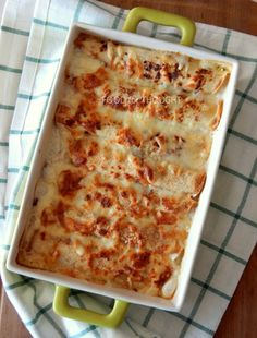 Food for thought: Κρέπες με ζαμπόν, τυρί και μπεσαμέλ Lasagna, Macaroni And Cheese, Food And Drink, Ethnic Recipes, Desserts, Food Food, Party, Tailgate Desserts, Mac And Cheese