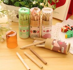 2020 new products stationery school supplies cheapest 12 colour pencil set good quality pencil color set for kids Pencil Drawings Of Flowers, Pencil Drawings Of Animals, Art Drawings, Indian Art Paintings, Coloured Pencils, Cute Bears, Office And School Supplies, Stationery, Miniatures