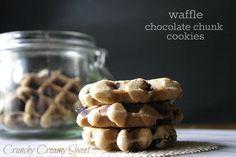 CCC Monday: Waffle Chocolate Chunk Cookies
