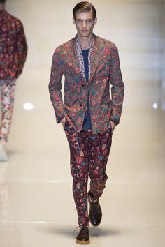 Tendances hommes - Les imprimés de l'été 2014 - Le défilé Gucci printemps-été 2014