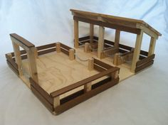 Check out this item in my Etsy shop https://www.etsy.com/listing/261034889/wooden-toy-barn