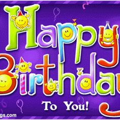 Emoticons wishing you a Happy Birthday