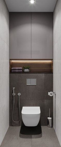 dyi bathroom remodelisextremely important for your home. Whether you choose the small laundry room or bathroom remodel tips, you will create the best bathroom remodel beadboard for your own life. Fotos von DESIGN STUDIO A + B Small Toilet Room, Small Bathroom, Dyi Bathroom, Bathroom Layout, Bathroom Inspo, Master Bathroom, Bathroom Design Luxury, Modern Bathroom Design, Bathroom Designs