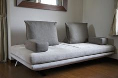 Ligne Roset Sofa, Gray Sofa, Prado, Living Room Sofa, Tiny House, Lounge, Couch, Yahoo, Bed