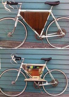 Ci facciamo un goccetto? #bastardidentro #bici #alcool #vano
