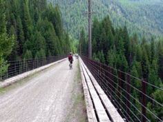 Route of the Hiawatha -- Rails to Trails in Idaho -- Put this on your Travel Bucket List.  Amazing!